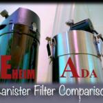 エーハイム vs ADA  外部フィルターを比較!